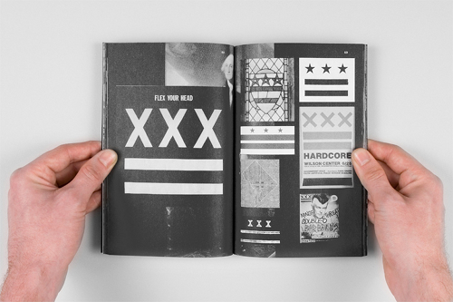 exhibition visual history letter x straight edge adam michael glen cummings gallery w new york