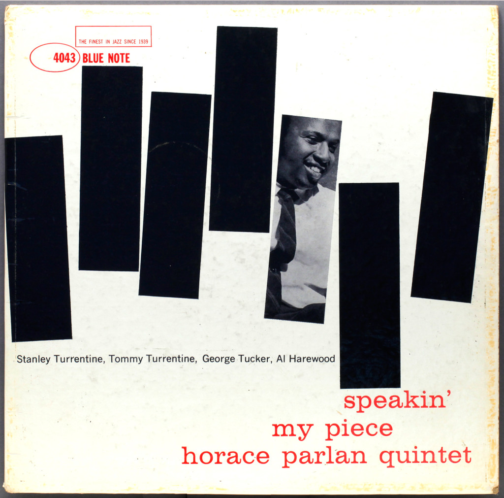 horace-parlan-quintet-speakin-my-piece-cover