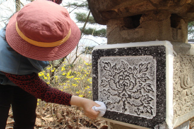 stone-rubbing-how-to-korean