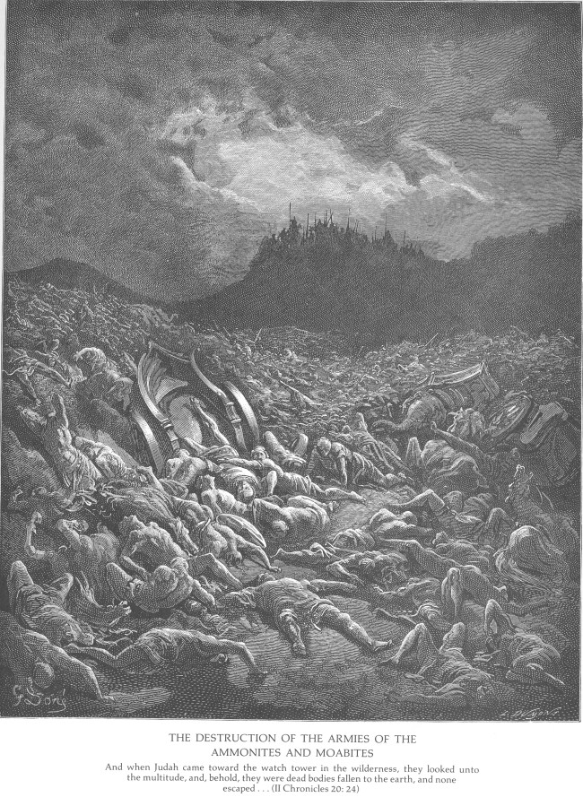 gustave-dore-the-bible-the-ammonite-and-moabite-armies-are-destroyed-2chron-20