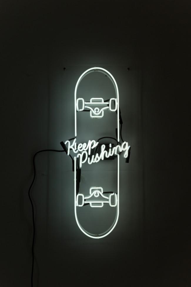 david-b-anthony-lighting-neon-keep-pushing-skateboard-2