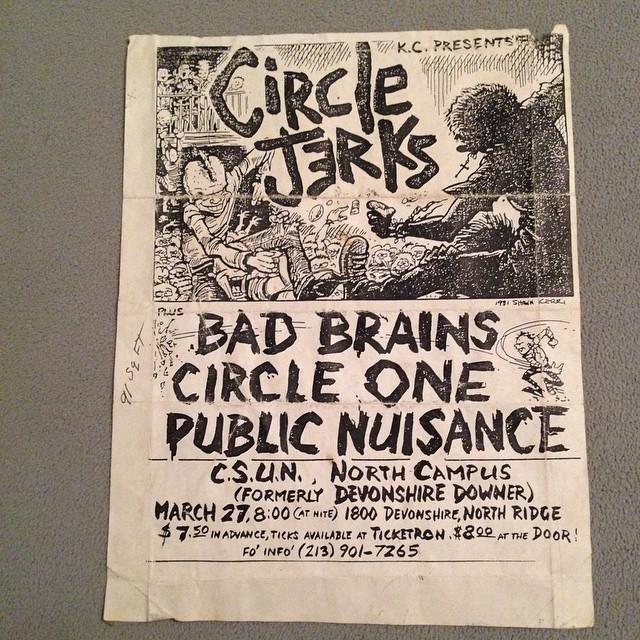 1981-03-27-Circle-Jerks-Bad-Brains-Circle-One-Public-Nuisance-CSUN-Campus-North-Ridge-Shawn-Kerri