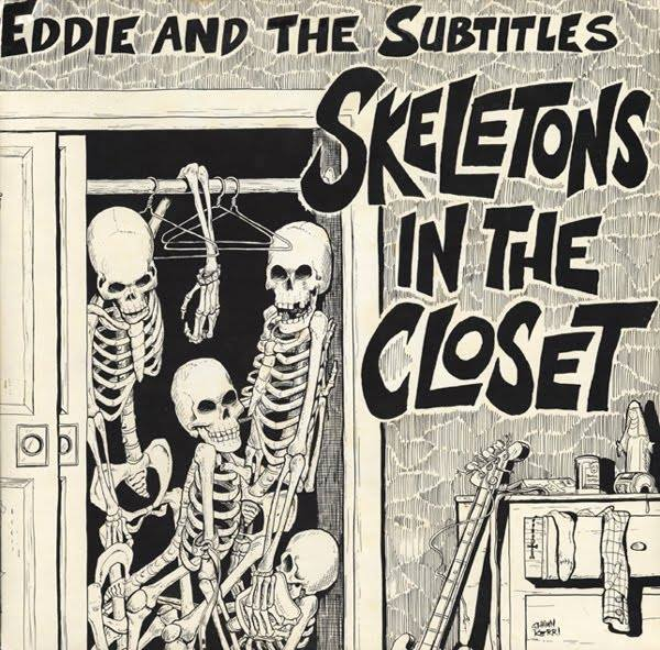 1981-eddie-and-the-sutitles-skeletons-in-the-closet-front-cover-shawn-kerri
