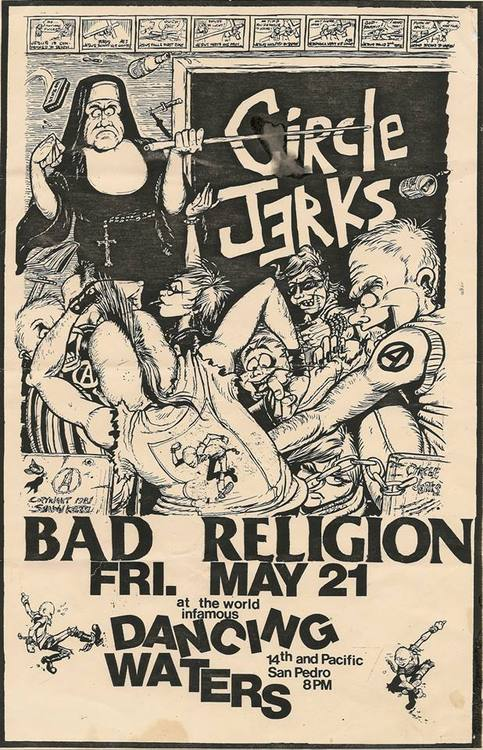 1982-05-21-Circle-Jerks-Bad-Religion-Dancing-Waters-San-Pedro-Shawn-Kerri