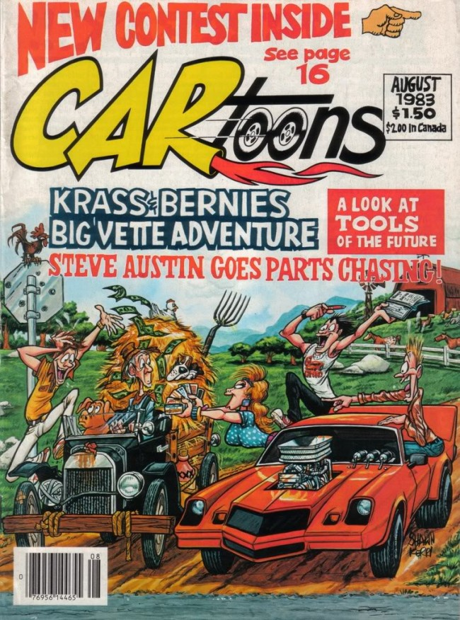CARtoons-1983-08-cover-by-shawn-kerri