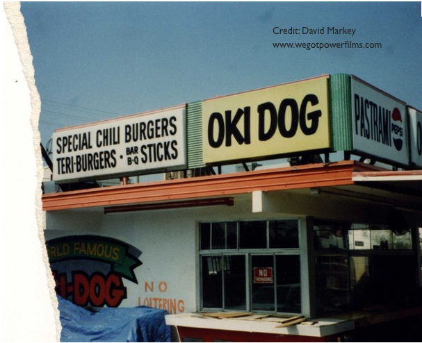 Oki-Dog-1980s-David-markey-we-got-power-films-copyright