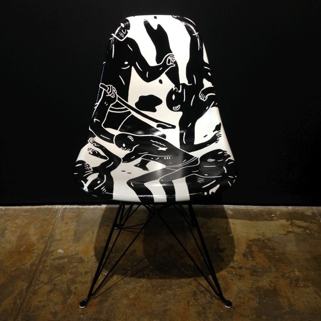 cleon-peterson-modernica-fiberglass-eiffel-chair-snoze-gallery-2014-b